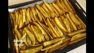 Fırında Patates Tarifi - Fırında Baharatlı Patates Nasıl Yapılır - Kolay Tarifle