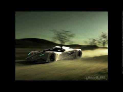 Lamborghini Ferruccio - 50th Anniversary Concept by Mark Hostler