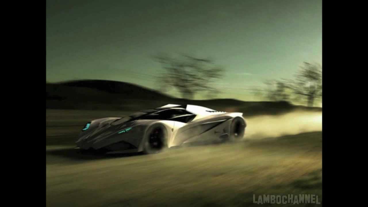 Lamborghini Ferruccio 50th Anniversary Concept By Mark