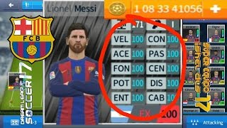 nuevo super hack dream league soccer 2017 barcelona 100% + monedas infinitas no root