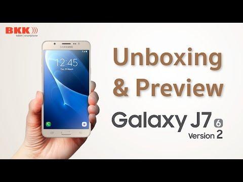 แกะกล่อง+พรีวิว Samsung Galaxy J7 2016