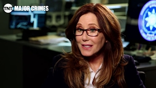 Conversation with Mary McDonnell | Major Crimes | TNT