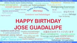 JoseGuadalupe   Languages Idiomas - Happy Birthday