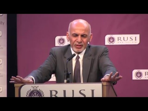 Ashraf Ghani on the Fifth Wave of Political Violence