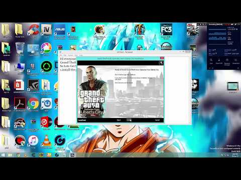 How To Install Patch And Crack GTA IV Episodes From Liberty City