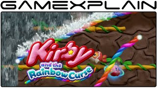 Kirby and the Rainbow Curse - Waterfalls Galore! World 1-3 Gameplay (1080p 60fps Wii U)