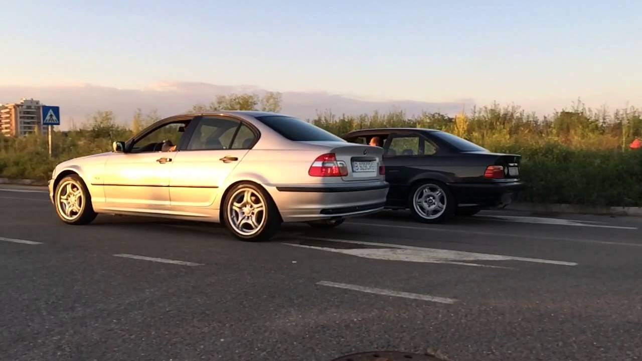 bmw 328i e46 vs 325i e36 slo mo youtube. Black Bedroom Furniture Sets. Home Design Ideas
