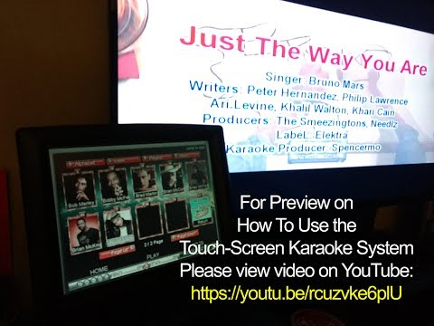 Touch Screen Dual Screen PC Karaoke System - Unify Karaoke System