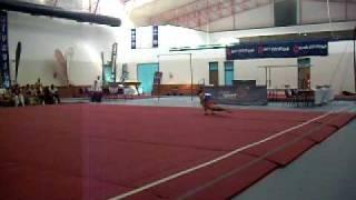 Wajdi Bouallegue (Tun) Floor 2010 10th African Gymnastics Championship Seniors EF