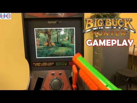 GAMEPLAY! Big Buck Hunter Arcade1up on Full Display: How Does It Look? from Unqualified Critics