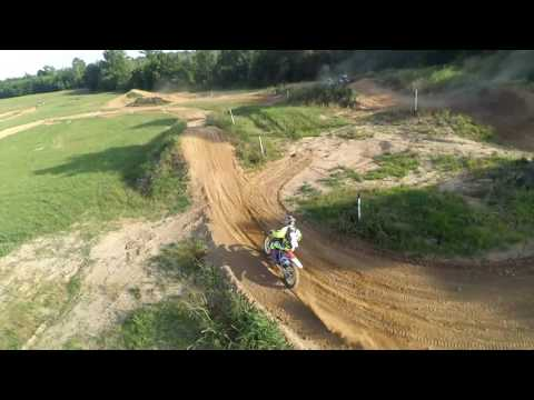 Aerial Photography Drone Productions presents Charles City Dirt Riders - Motocross