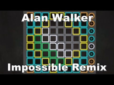 Alan Walker - Impossible | UNIPAD PROJECT FILE DOWNLOAD