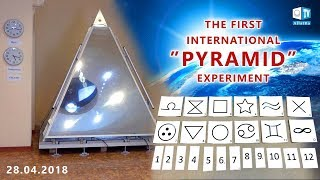 "THE FIRST INTERNATIONAL ""PYRAMID"" EXPERIMENT. The results"