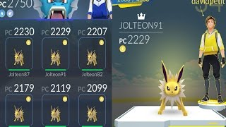 ANÁLISIS COMPETITIVO! TEAM JOLTEON X6 VS GYM LVL8! [Pokémon GO - davidpetit]