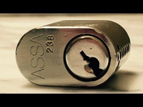 Взлом отмычками ASSA DP 2400  ASSA DP 2400 - Pick & Gut (ASSA DP 2400 Pick & Gut Video. Two pairs of sidebar sliders, six ASSA barrel spools with matched countermilling i