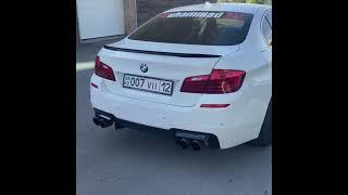 Тюнинг выхлопа на BMW 520i F10…