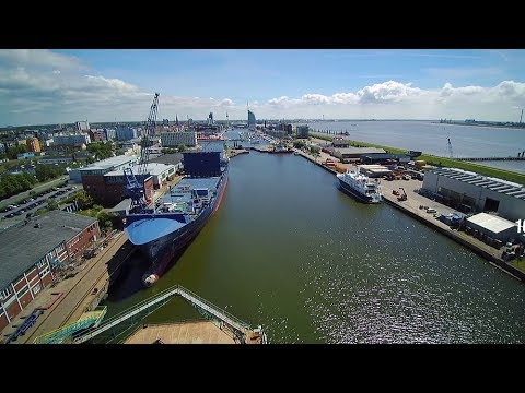 World's First Conversion of Container Ship to Dual-Fuel Operation