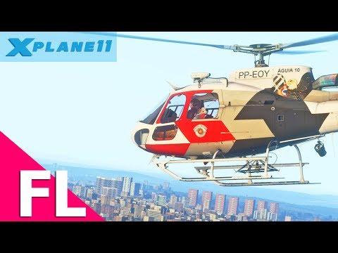 [FLIGHT] - Ocorrência de Resgate em São Paulo com Águia 10 (Com Fonia)