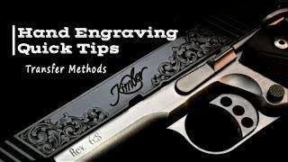 Engraving Quick Tips #1 - Transfers