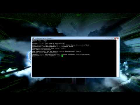 How To Change The ROOT Password On A Linux Dedicated/VPS Server