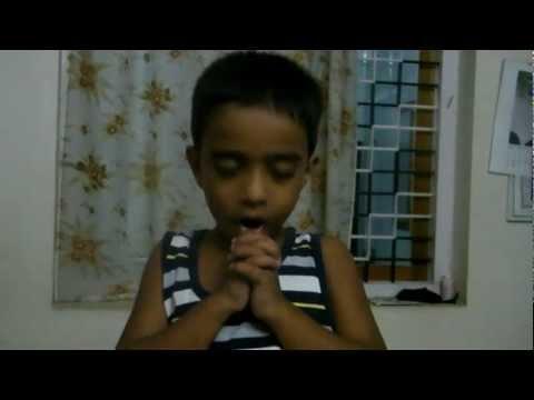 Daivame Sachithanantha. sung by cute kid