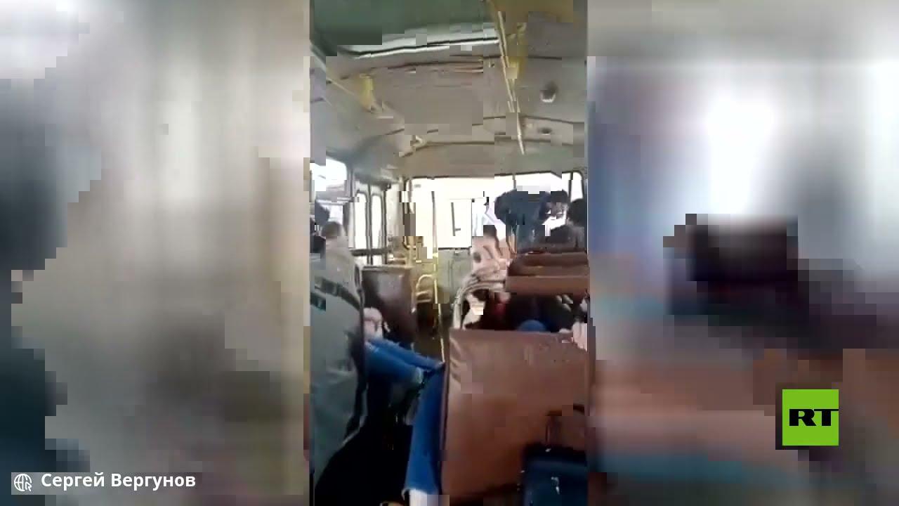 سحب حافلة غمرتها المياه  - نشر قبل 24 ساعة