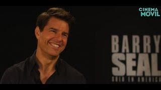 Tom Cruise habla sobre 'Barry Seal: Solo en América' y la secuela de 'Top Gun'