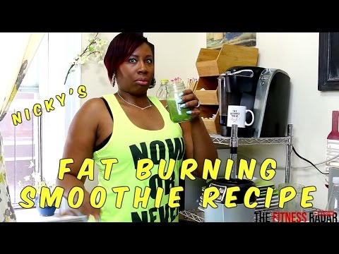 NUTRI NINJA | FAT BURNING SMOOTHIE  RECIPE
