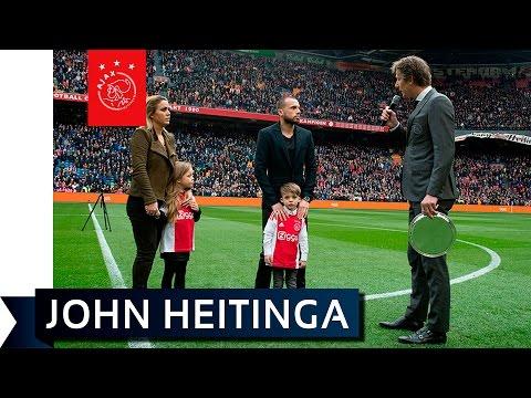 Special afscheid Heitinga op Ziggo Sport