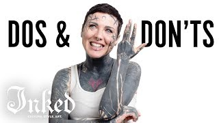 Michela's Tattoo Dos & Don'ts | INKED