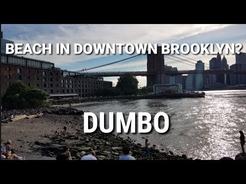 Dumbo, Brooklyn 🇺🇸 - Walking from Manhattan to Brooklyn | 🗽NYC