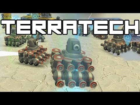 Terra Tech - Artificial Intelligence Terra Tech Army! - TerraTech Gameplay