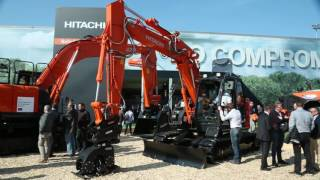Hitachi at Bauma 2016: No Compromise