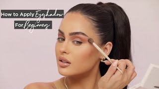 How To Apply Eyesнadow For Beginners Step By Step   Christen Dominique