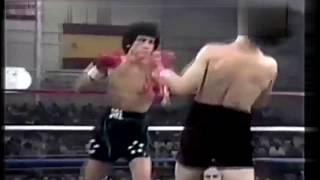 Salvador Sanchez vs Roberto Castanon(1981 03 22). 5th defense of the title