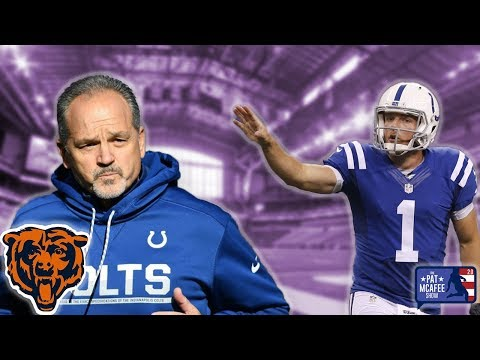 Pat McAfee Talks Chuck Pagano's New Job