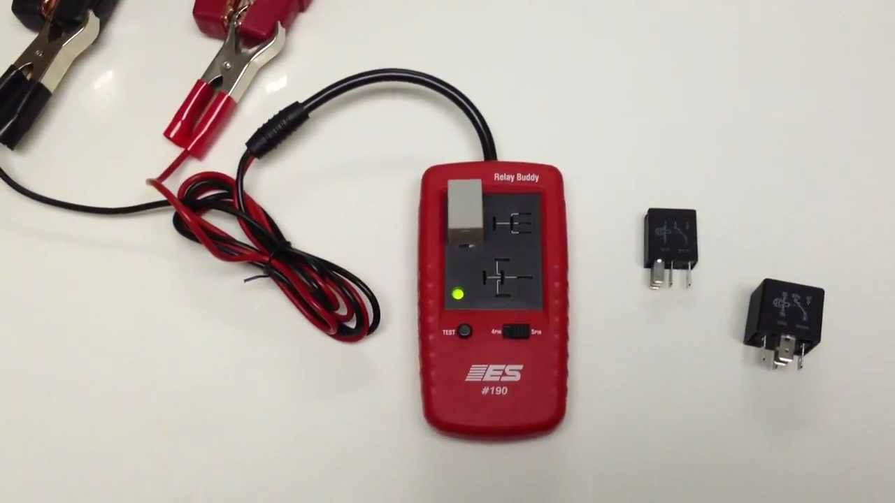 Electronic Specialties Inc Professional Hand Held Automotive Test Equipment Model 190 Relay Buddy