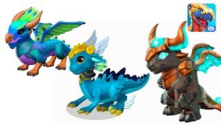 ДРАКОН БЫК ПАВЛИН ГЕРМЕС Легенды Дракономании l Dragon Mania Legends Андроид игра