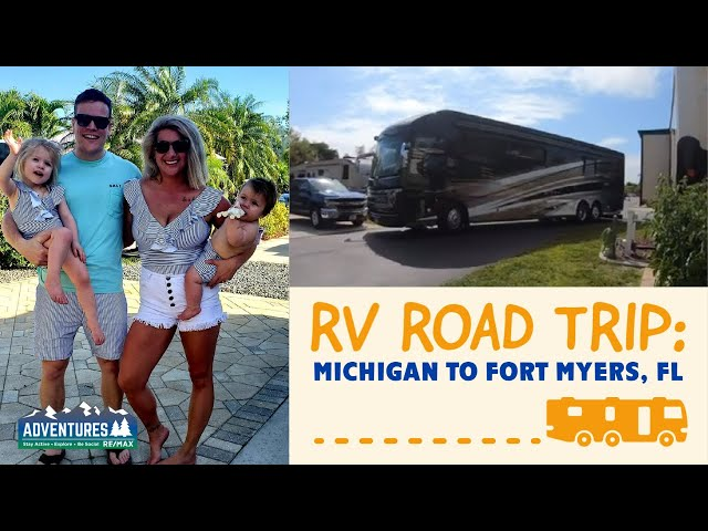 RV Road Trip: Michigan to Gulf Waters RV Park-Fort Myers, Florida