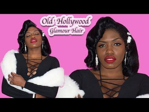 Hair   Old Hollywood Glamour / 1950's Hair Tutorial