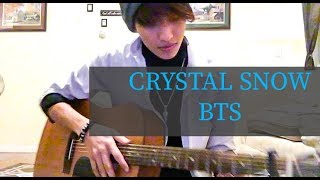BTS - Crystal Snow [Guitar Cover] (EASY CHORDS)