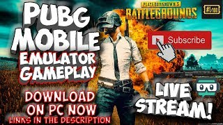 PUBG Mobile PC - Live Stream - Download Now - SUBSCRIBE to play - Android Emulator - (English) Ryzen