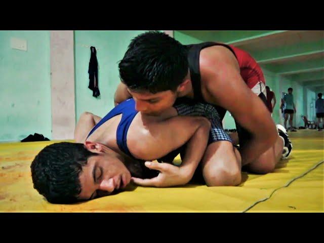 Kushti wrestling morning practice कुश्ती