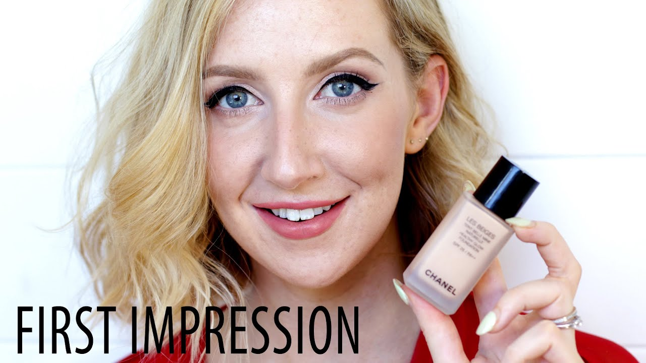 37af00989c Chanel Les Beige Healthy Glow Foundation First Impression Review | Sharon  Farrell