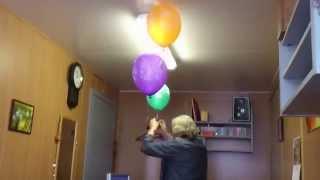 Воздушные шарики в офисе(, 2015-08-21T09:45:04.000Z)