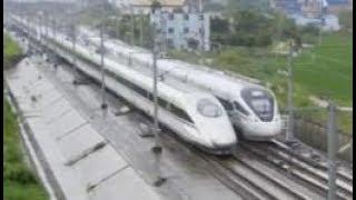 CRH380A+CRH380A & CRH1A-A, China High Speed train 中國高速列車