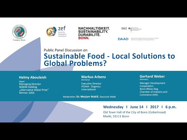 Sustainable Food – Local Solutions to Global Problems? - Short version