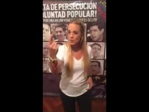 COMPLETO: Vea el mensaje que Leopoldo López envió a los venezolanos a través de Lilian Tintori