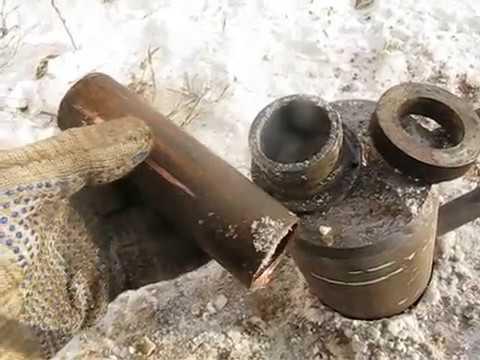 Восстановление круглости трубы