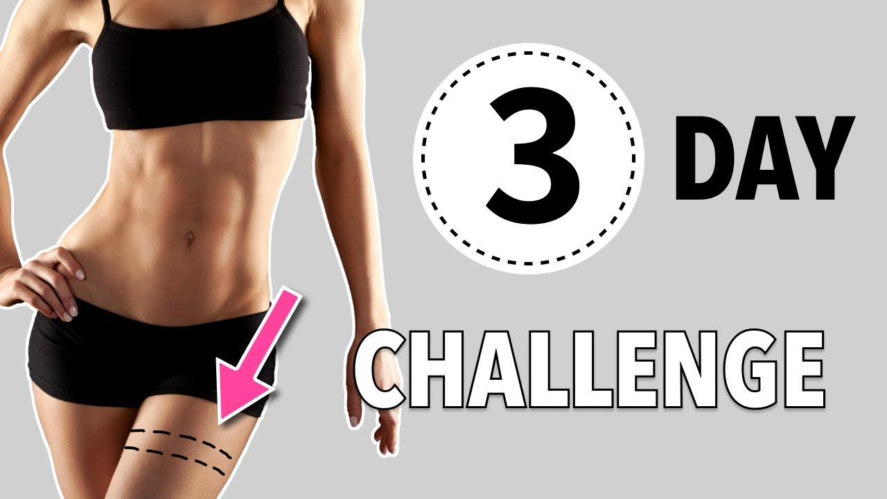 3-DAY CHALLENGE: LOSE THIGH FAT AT HOME